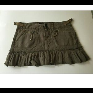Guess Jeans Distressed Military Skirt sz 28